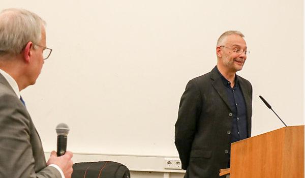 Dr. Norbert Reck, Theologe und Publizist, Februar 2020