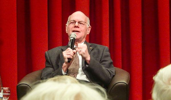 Prof. Dr. Norbert Lammert im März 2018 bei der Veranstaltung 'Brauchen wir eine Leitkultur?'